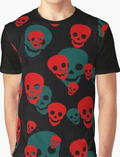 Skull Pattern Graphic T-Shirt