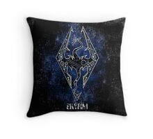 Digital Skyrim Throw Pillow