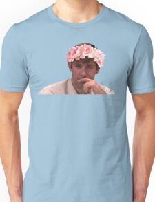 Jim Adorned with the Hottest of Flower Crowns Unisex T-Shirt
