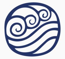 Waterbending Symbol by hopperograss