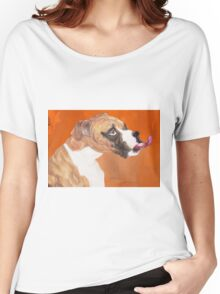 Bella's Boxer Women's Relaxed Fit T-Shirt