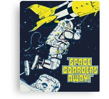 Space Boarders Canvas Print