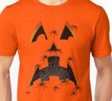 Creepy Crawlie Pumpkin Face Unisex T-Shirt