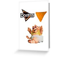 Hardcore Baby oger Greeting Card