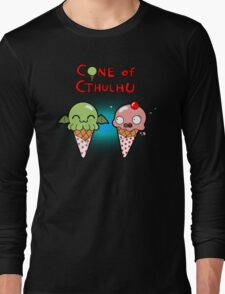 The Cone of Cthulhu Long Sleeve T-Shirt
