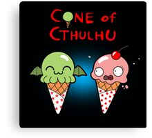 The Cone of Cthulhu Canvas Print