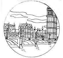 Palace of Westminster Photographic Print