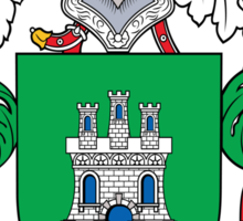 Corral Coat of Arms (Spanish) Sticker