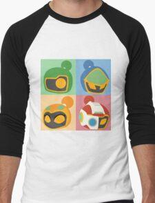 The Bomber Kings - Bomberman minimalist Men's Baseball ¾ T-Shirt