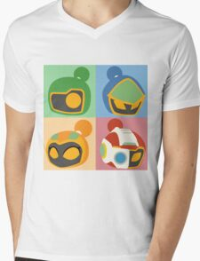 The Bomber Kings - Bomberman minimalist Mens V-Neck T-Shirt