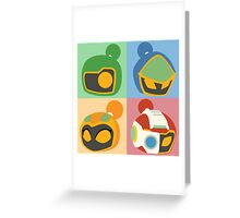 The Bomber Kings - Bomberman minimalist Greeting Card