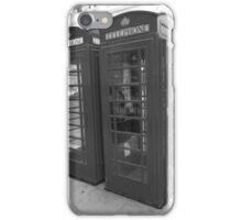 Telephone Box iPhone Case/Skin