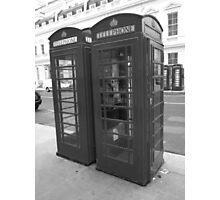 Telephone Box Photographic Print
