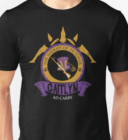 Caitlyn - The Sheriff of Piltover Unisex T-Shirt