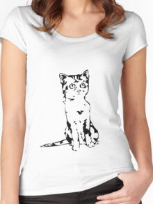 Andrew Jackson Jihad - Human Kittens (No Words) Women's Fitted Scoop T-Shirt