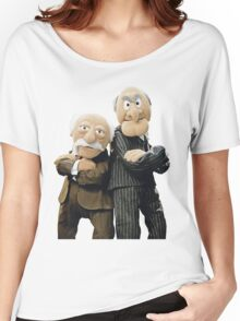 Statler and Waldorf Women's Relaxed Fit T-Shirt