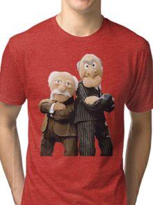 Statler and Waldorf Tri-blend T-Shirt
