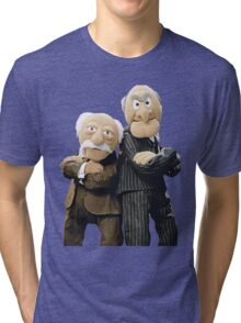 Statler and Waldorf Tri-blend T-Shirt