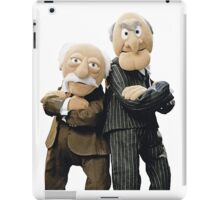 Statler and Waldorf iPad Case/Skin