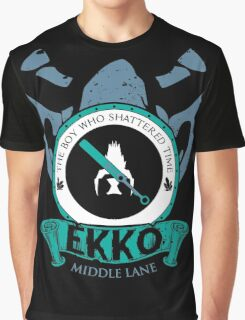 Ekko - The Boy Who Shattered Time Graphic T-Shirt