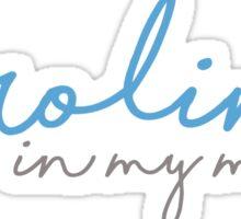 Carolina In My Mind- University of North Carolina Sticker