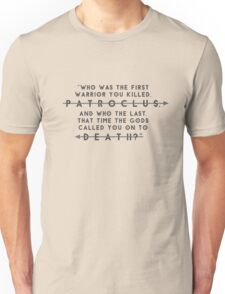 FIRST AND THE LAST - Greek Myths Unisex T-Shirt