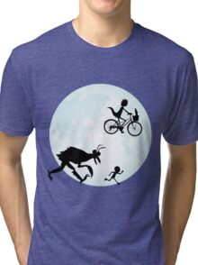 E.T. Rick and Morty Tri-blend T-Shirt