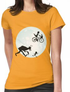 E.T. Rick and Morty Womens Fitted T-Shirt