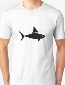 A fin day for fishing: BLACK Unisex T-Shirt