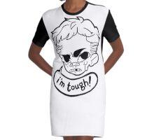Tough Stuff Graphic T-Shirt Dress