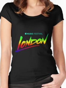 APPLE MUSIC FESTIVAL 2016 - LONDON Women's Fitted Scoop T-Shirt