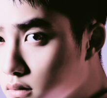 DO Kyungsoo in lilac Sticker