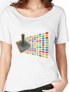 vintage color joystick Women's Relaxed Fit T-Shirt
