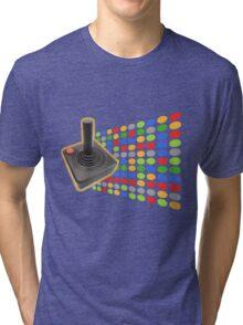 vintage color joystick Tri-blend T-Shirt
