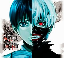 Tokyo Ghoul by xDragon21