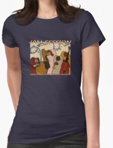 Jam Session T-Shirt Womens Fitted T-Shirt