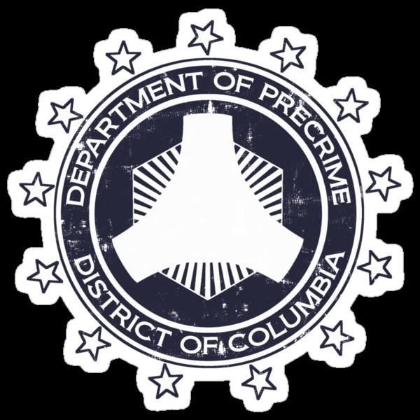 Minority Report Precrime Logo by Adho1982