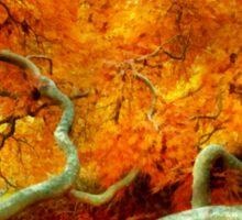 Autumn - Tree - Serpentine Sticker