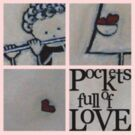 pockets full of Love 2 T-Shirt by Midori Furze