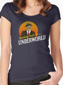 Opportunity Awaits You In Underworld Women's Fitted Scoop T-Shirt