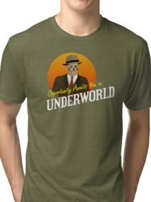 Opportunity Awaits You In Underworld Tri-blend T-Shirt