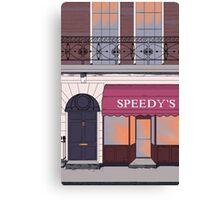 BBC Sherlock- 221B Baker Street Canvas Print
