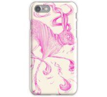 Celestial Rabbit Pink & Beige iPhone Case/Skin