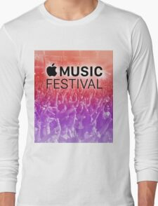 APPLE MUSIC FESTIVAL 2016 - COLORFUL Long Sleeve T-Shirt