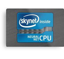 Skynet Inside Metal Print