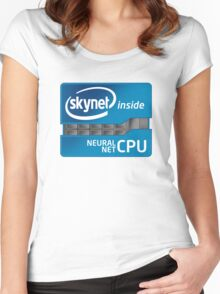 Skynet Inside Women's Fitted Scoop T-Shirt