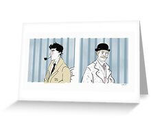 Deductions Greeting Card
