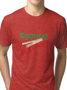 Eggnog Forever Tri-blend T-Shirt