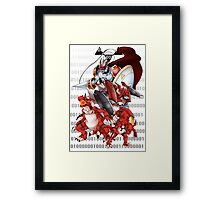 Guilmon Evolution Framed Print