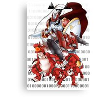 Guilmon Evolution Canvas Print